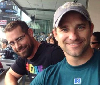 brian sims twin brother nate - now married with kids