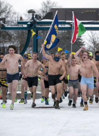 college boys underwear - montana state u - undie run 2015