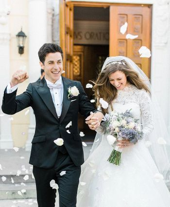 david henrie wedding