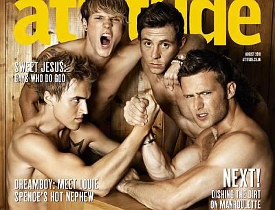 mcfly shirtless photos - attitude magazine