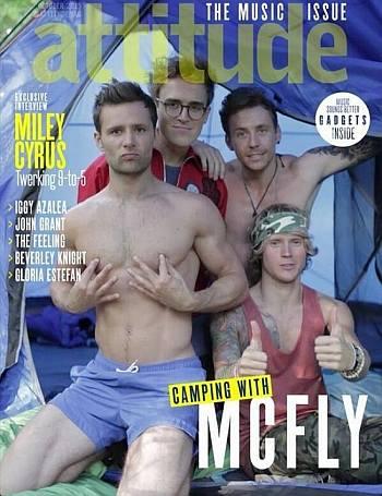 mcfly underwear photo - attitude magazine photoshoot