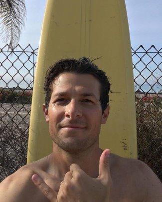 Jacob Soboroff body surfer hunk