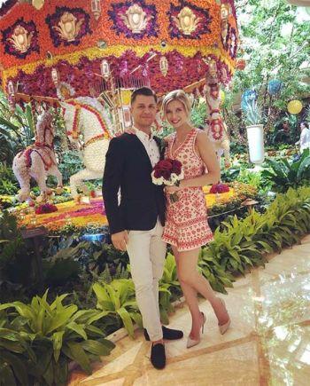 Pasha Kovalev wedding to rachel riley