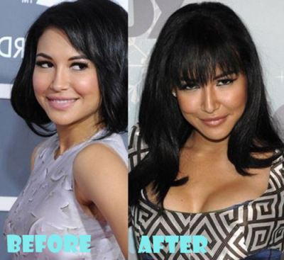celebrities-with-breast-implant-before-and-after-naya-rivera