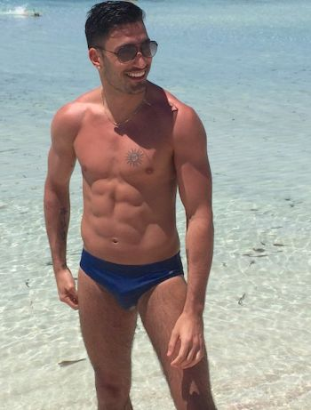 giovanni pernice underwear speedo beach