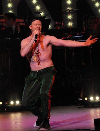 kevin clifton shirtless dancer rapper