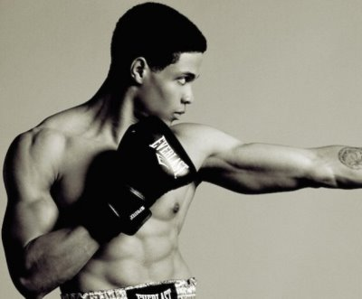 ray fisher shirtless body - muhammad ali