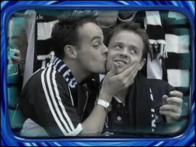 ant and dec gay kissing buddies