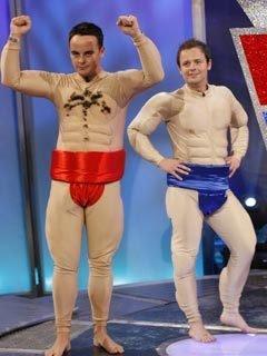 ant and dec sumo wrestling underwear