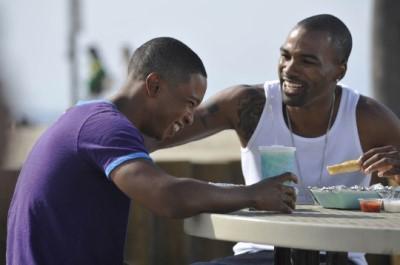 black actors doing gay roles - benjamin watson andra fuller