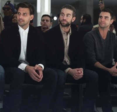 chace crawford beard with guy friends