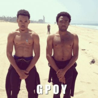 chance the rapper shirtless