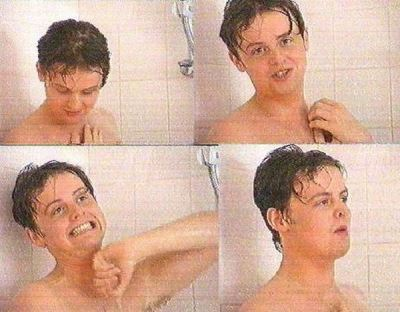 declan donnelly shirtless - young