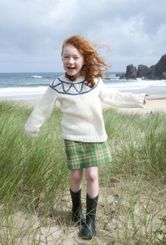 girls kilt - katie morag - cherry campbell