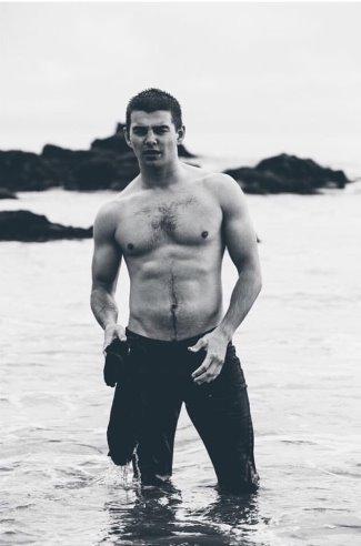 jack griffo shirtless body