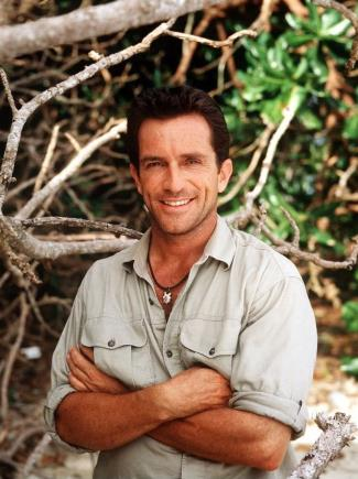 jeff probst young - then and now
