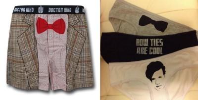 matt smith doctor who underwear