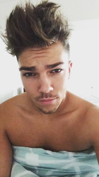 matt terry shirtless x factor singer