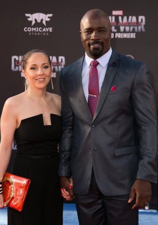 mike colter girlfriend wife iva colter