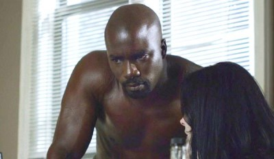 mike colter shirtless luke cage