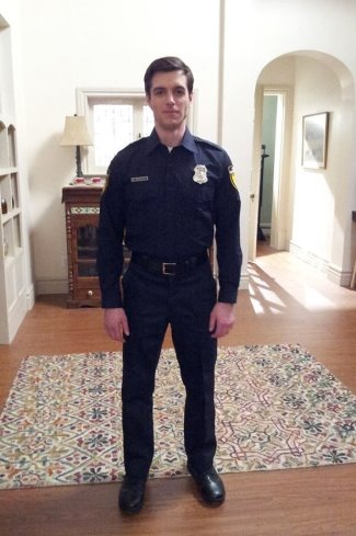 Dan Jeannotte hot police uniform - the good witch