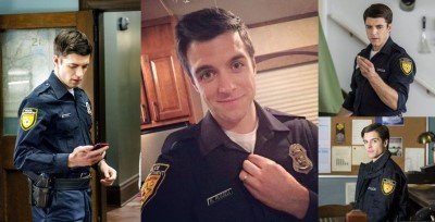 Dan Jeannotte - good witch - hot police uniform3b