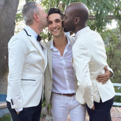 Dominic Adams gay wedding of friends