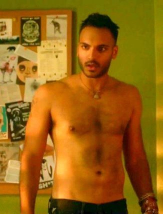 arjun gupta shirtless body