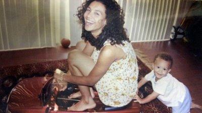 young brad kaaya with mom