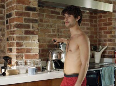 cel spellman shirtless in underwear