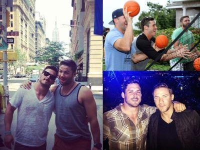danny amendola gay julian edelman bromance playing balls
