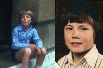 gary barlow as a boy in 1977 left