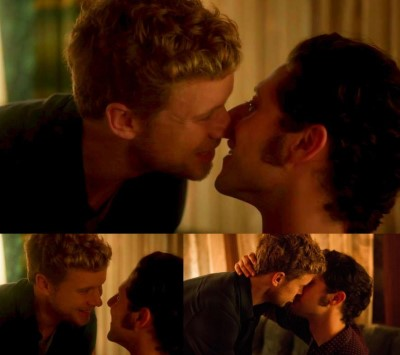 jesse luken gay kiss hale appleman - mike and eliot
