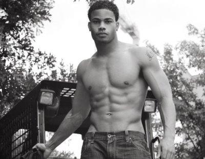 jordan calloway shirtless and hot