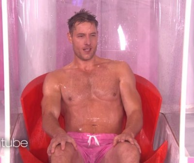 justin hartley underwear pink boxer shorts