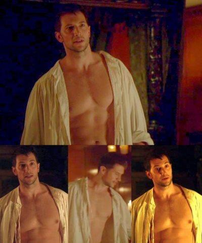 luke roberts shirtless sexy photos in reign