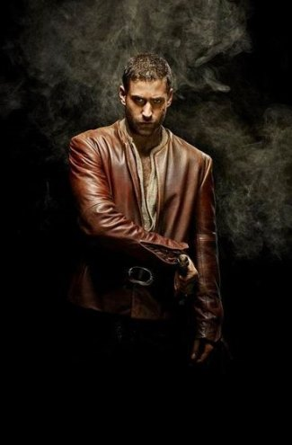 oliver jackson-cohen lucas in leather - emerald city