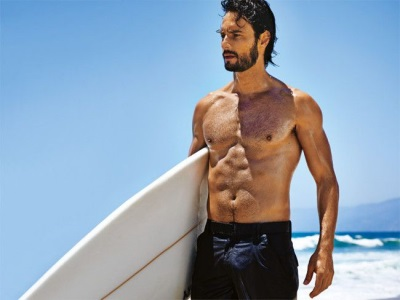 rodrigo santoro shirtless body
