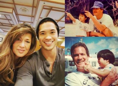 ross butler parents - mother and father