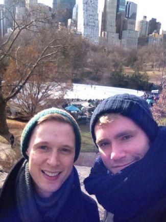 samuel barnett gay boyfriend Adam Penford - married partner