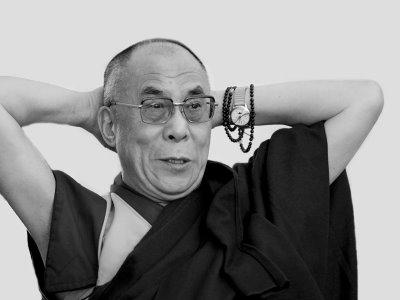 Celebrities Wearing Patek Philippe Watches - Dalai Lama Patek Philippe Chronograph