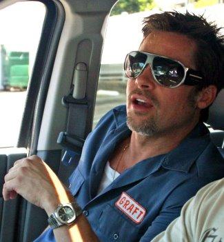 Celebrities Wearing Patek Phillip Watches - Brad Pitt