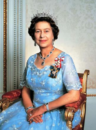 Celebrities Wearing Patek Philippe Watches - Queen Elizabeth II wears a Patek Philippe Golden Ellipse