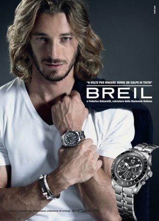 breil watches for for men - Federico Balzaretti - italian footballer