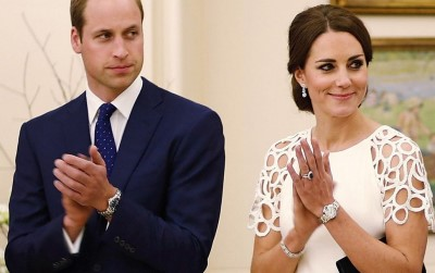 celebrities wearing cartier ballon bleu watch - kate middleton