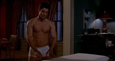 eddie cibrian underwear hunk in white briefs