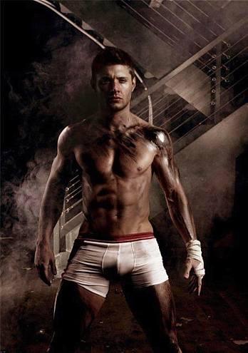 jensen ackles underwear - photoshopped