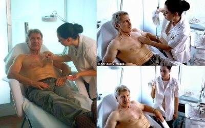 male celebrity body waxing - harrison ford