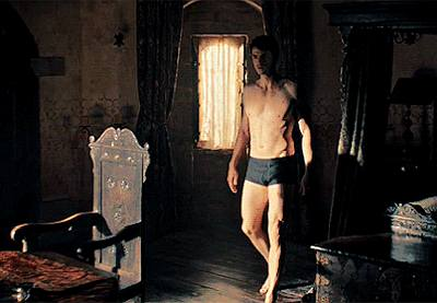 matthew goode boxer briefs underwear in discovery of witches