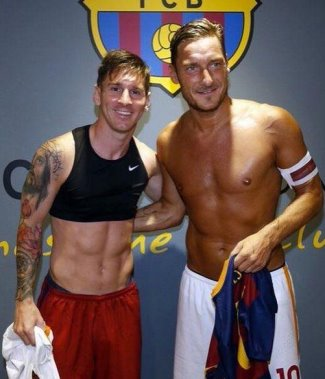 men wearing bras lionel messi